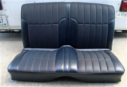 1968 1969 Firebird Deluxe Interior Rear Seat Assembly