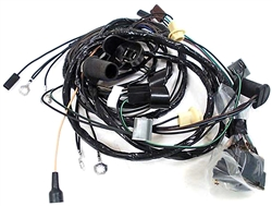 1968 firebird front headlight wiring harness  v8 with