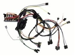 1968 Firebird Dash Wiring Harness, Console Shift Auto with Warning LightsFirebird Central
